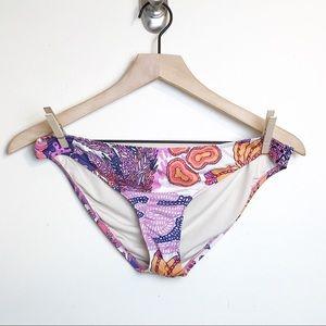 Tibi Bikini Swim Bottom Floral